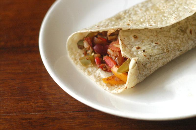 Spanish-Rice-Burrito