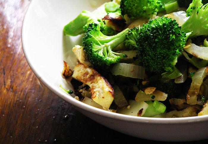 Broccoli-Tofu