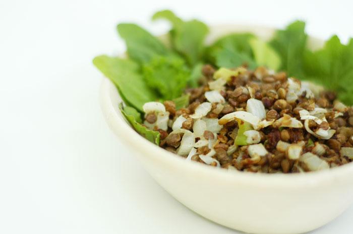 Lentil-salad