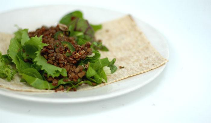 Lentil-Salad-Wrap