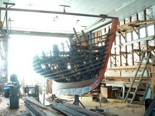 Ralph Stanley Boatbuilding Shop Interior 800x600
