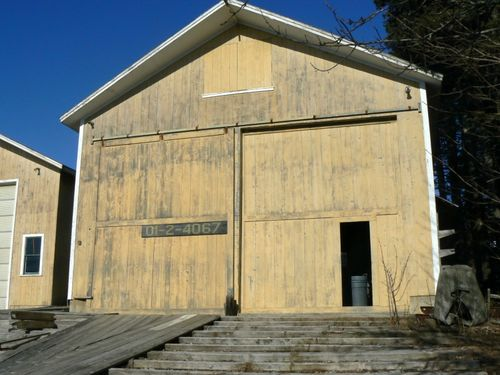 Ralph Stanley Boat Storage Building from South 800x600