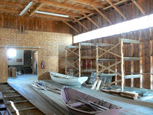 Ralph Stanley Boat Storage Building Interior 2 800x600