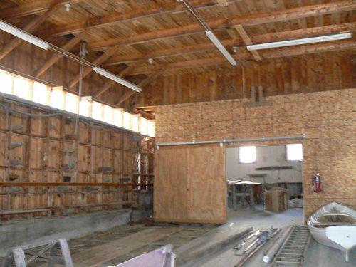 Ralph Stanley Boat Storage Building Interior 800x600