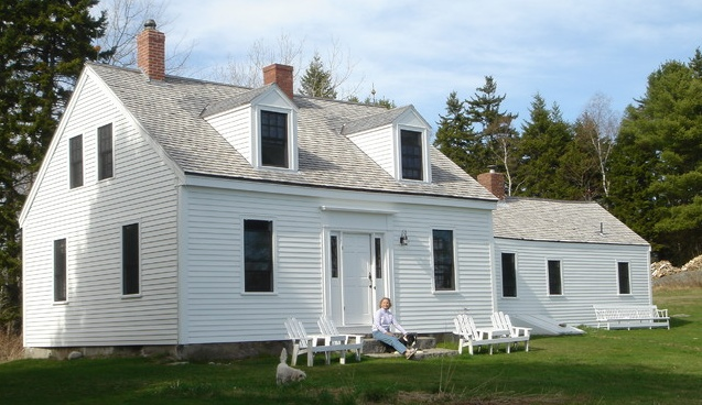 Maine Cape with Dormers